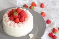 いちごケーキ - アルフの粉修行
