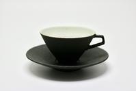 錆黒ティーカップ - 器・UTSUWA&陶芸blog