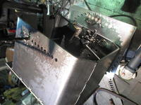 エイト8角制作中 - 金属造形工房のお仕事