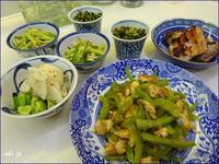 我家の食卓 野菜中心料理 - テヘランのアルバム