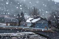 雪景色を撮る1 - 田舎暮らしの写真家KENZO