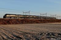 朝焼けを往くTWILIGHT EXP.瑞風。 - 山陽路を往く列車たち