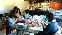二子玉川ニコニットカフェ♪次回は2/13です - 空色テーブル  編み物レッスン&編み物カフェ