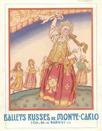 イワン・ビリービン:バレエ・リュスのポスター - Books
