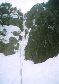 (新アイス本没原稿)錫杖岳中央稜P2右岩壁左ルート~本峰東尾根 - blog版 がおろ亭
