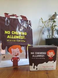 No Chewing Allowed! - NYの小さな灯り ~ヘアメイク日記~