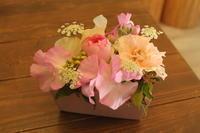 バレンタインキッズレッスンのご案内 - 北赤羽花屋ソレイユの日々の花