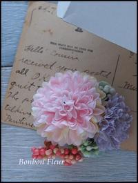 コサージュ(キッズ) - Bonbon Fleur ~ Jours heureux  コサージュ&和装髪飾りボンボン・フルール