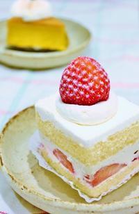今年初のケーキを食す。。。 - □ □ nuku-nuku □ □