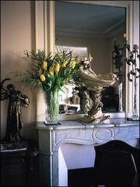 黄色は希望の春の花色>透きとうった花瓶に巴里を想って - 生きる歓び Plaisir de Vivre。人生はつらし、されど愉しく美しく