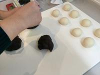 ちぎりパン&ベリーのココショコラレッスン - パン教室  ローズのマリ