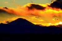 29年1月の富士(21)夕暮れの刻(写真部門) - 富士への散歩道 ~撮影記~