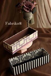 柄の出し方・見せ方も意識して - Fabrikoのカルトナージュ ~神戸のアトリエ~