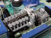 アオシマのDD51 排気タービン回り - Sirokamo-Industry