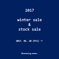 2017 winter sale  &  stock sale! - clothing & furniture 『Humming room』