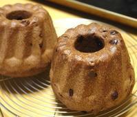 濃い濃いチョコのクグロフ - ~あこパン日記~さあパンを焼きましょう