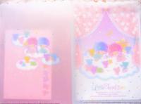 キキララ レインボーベアシリーズのレターセット☆ - ダリア日記帳