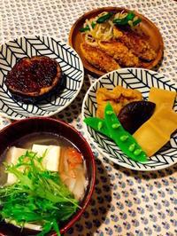 水菜のスープや高野豆腐などなど - Lammin ateria