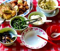 港式自助餐的素食(魚香茄子、㰖菜炒四季豆、炒蛋苦瓜) - れしぴこ的 無駄なあがきっ!