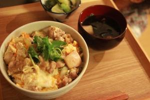 晩ごはんは親子丼     (料理・お弁当部門) - はぐくむキッチン