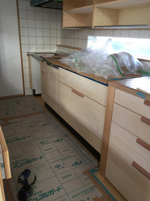 キッチン造作 - vega blog