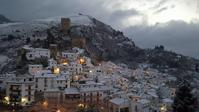 アンダルシアの雪と去勢牛の心臓 - 村人生活@ スペイン