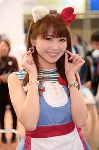 上野未菜さま @mimitasu37 キティVer. フィッシングショー - Works in the Shell annex @ まったり