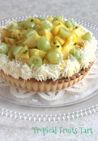 トロピカルなフルーツタルト - Tortelicious Cake Salon