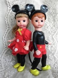 マックのMA 2004 Mickey & Minnie Mouse /ミッキー&ミニーマウス - 眠れる島の小さな住人達