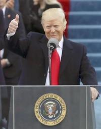 トランプ新大統領就任式を見て思ったこと - 「趣味はウォーキングでは無い」