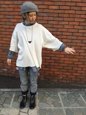 ワッフル天竺アーミージムBIGT(ファッション・ビューティー部門) - SAPPORO STAFF BLOG