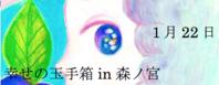 新春イベント幸せの玉手箱in森ノ宮 - あん子のスピリチャル日記