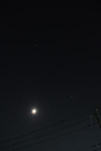 月、木星、アルクトゥルス、スピカ - FACE's of the MOON - photos & silly things