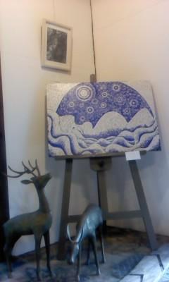 momomi-卵殻画/イラスト展- - 大手前便り