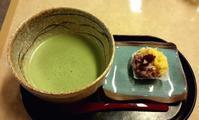 薬局?で お茶 - お昼ごはんはパフェ (お昼ごはんはモーニング?)