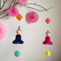 【1/29】ハニカムペーパーで作る雛飾り - curiousからのおしらせ