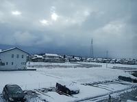 雪 始めました(笑) - 魚津でもクマクマな日々