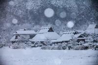 かやぶきの里の雪景色! - Prado Photography!