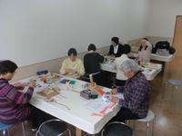 3回目の網袋教室が始まった - よしのクラフトルーム
