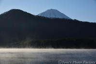 霧の西湖から、富士山を仰ぎ見る - Tomの一人旅~気のむくまま、足のむくまま~