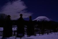 29年1月の富士(23)笠雲と富士1(写真部門) - 富士への散歩道 ~撮影記~