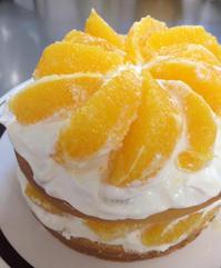 オレンジのショートケーキ - マイニチ★コバッケン