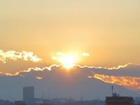 2017.1.22NGダイヤモンド富士(府中本町駅) - ダイヤモンド△△追っかけ記録