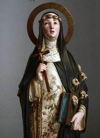 薔薇の冠 リマの聖ローザ像     /166 - Glicinia 古道具店
