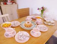 ママ友家族とお茶会☆ - ドイツより、素敵なものに囲まれて