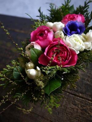 退院のお祝いに。「エレガントに」。南21西15にお届け。 - 札幌花屋meLL flowers
