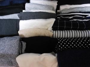 衣類をちょっと断捨離した日曜日。 - ぷこログ4