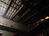 インドの田舎の民家の寝床からの光景 - インド現地採用 生活費記録