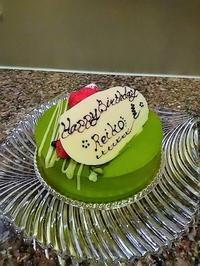 今年のバースデーケーキ♪ - REIKO'S LIFE