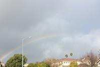 虹が出たりヒョウが降ったり - ちょっと田舎暮しCalifornia